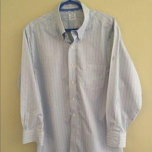 🇬🇧 NWOT Brooks Brothers non-iron dress shirt.